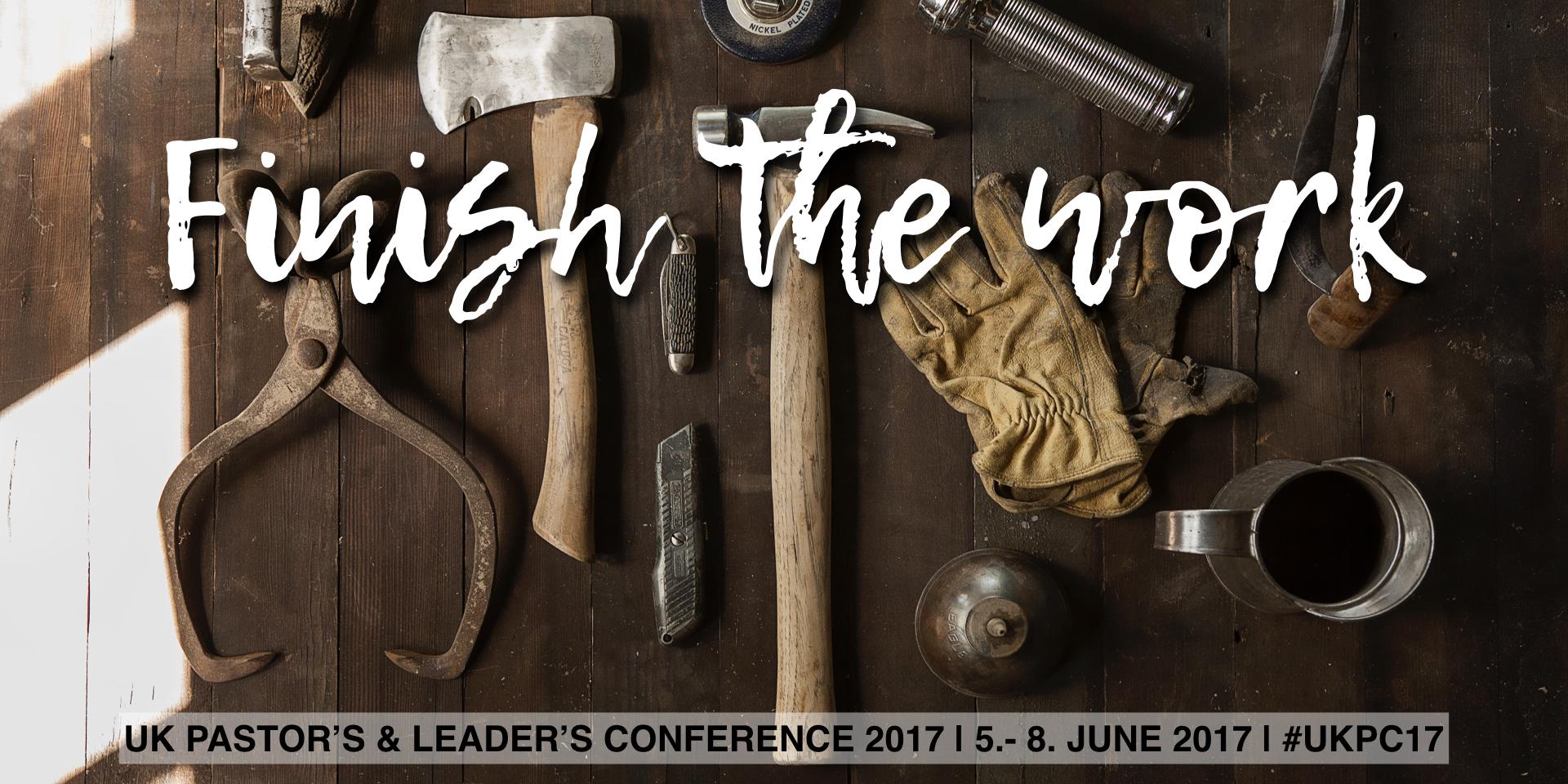 2017 Pastors Conference Theme